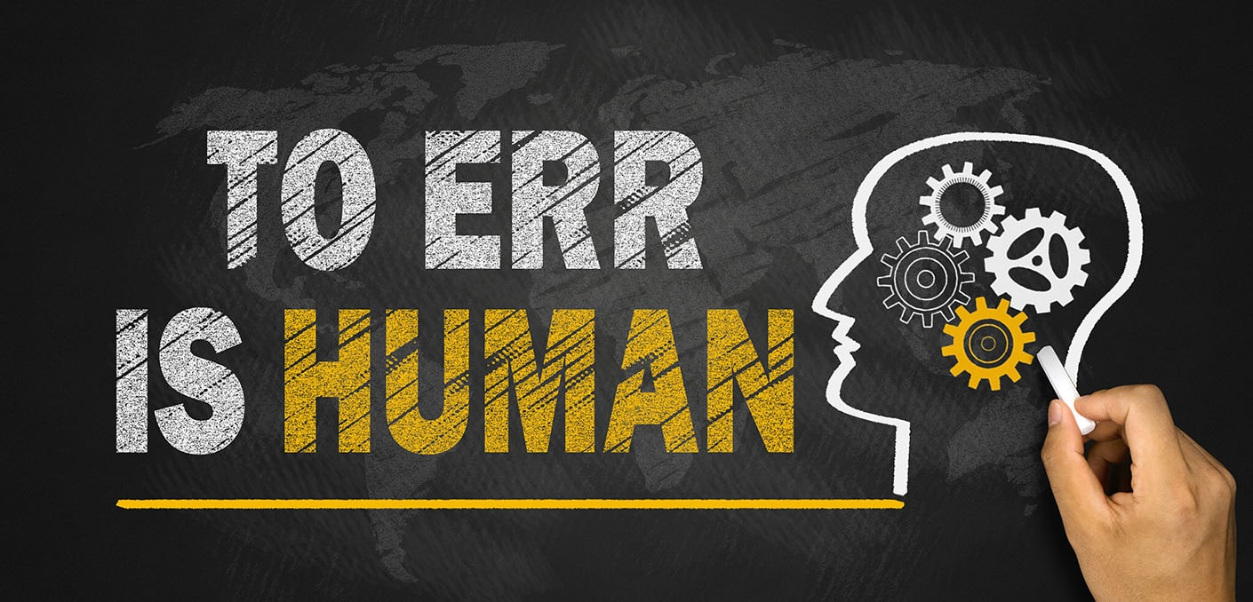 Can human error be eliminated in electrical inspections